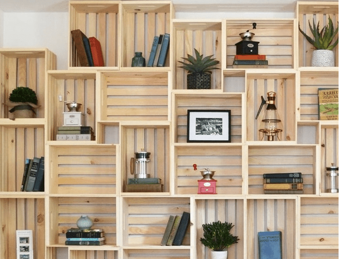 DIY creative ideas for top storage cabinets